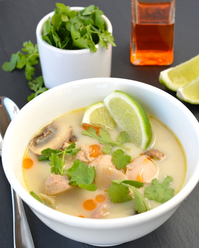 Tom Kha Gai - Thai Coconut Soup