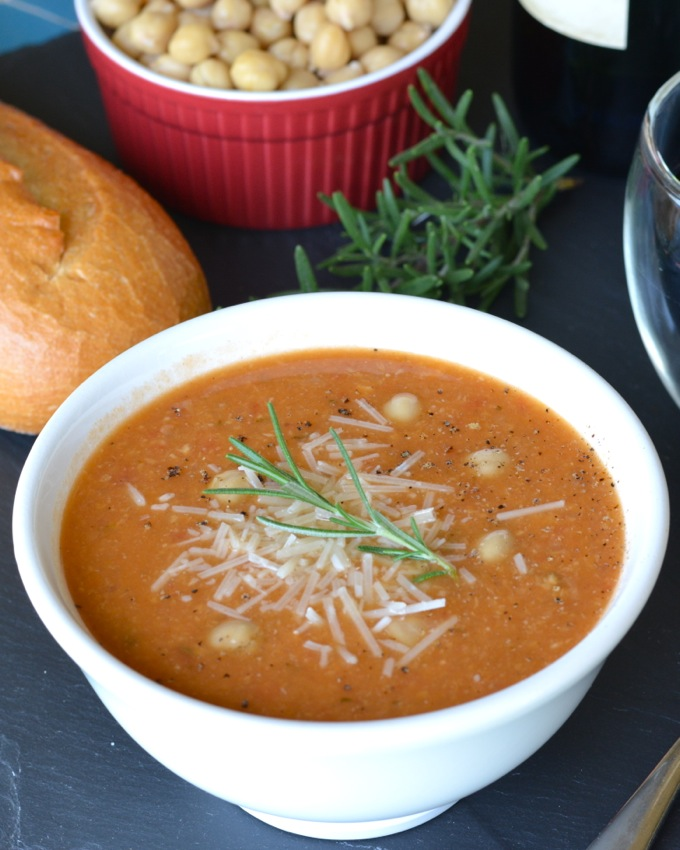 Tuscan Chickpea Soup