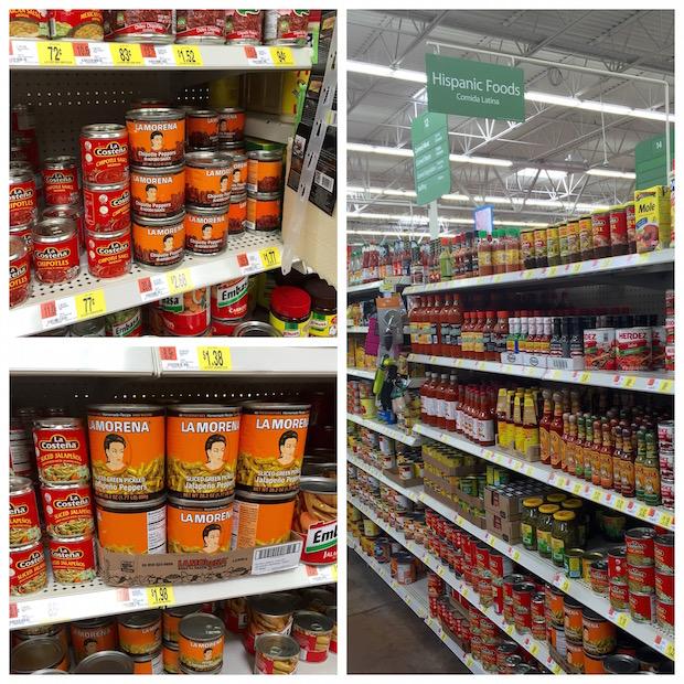 La Morena at Walmart