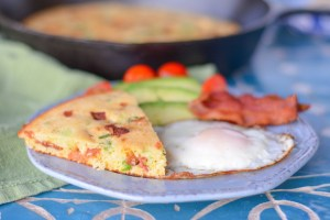 Bacon Scallion Cornbread