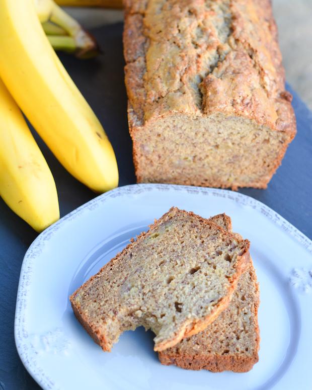 Honeyed Banana Bread