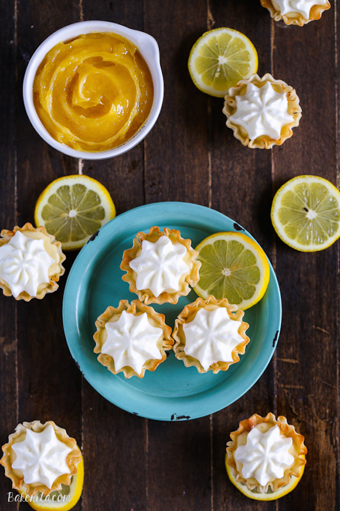 Lemon Cream Pie Bites