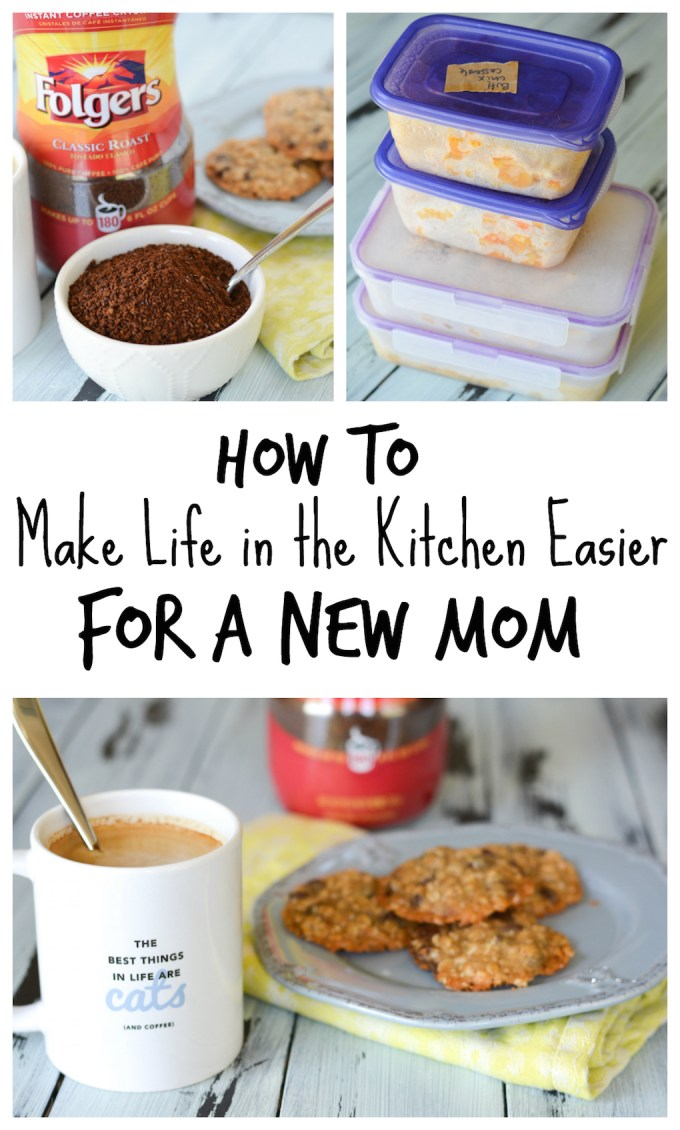 How to Make Life Easier in the Kitchen for a New Mom