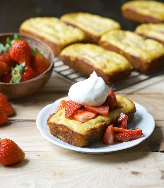Strawberry Shortcake Bread