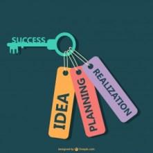 La planification est une des clés pour atteindre ses objectifs.
