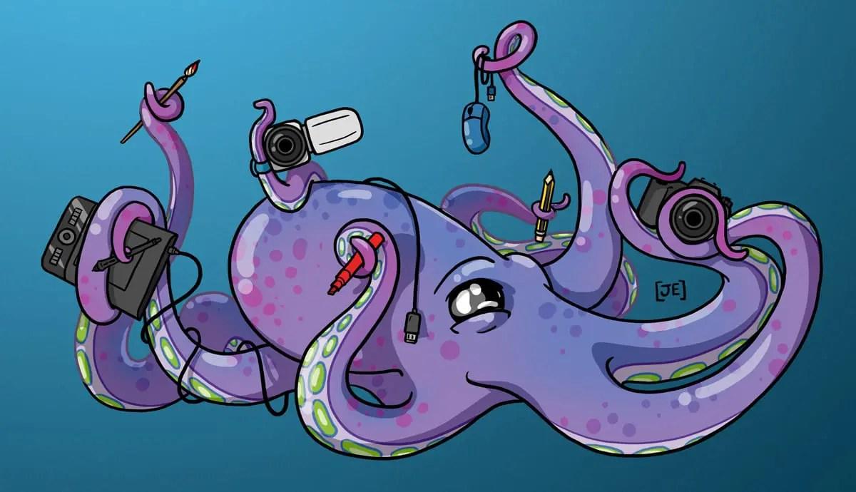 Octopus Art (2015)
