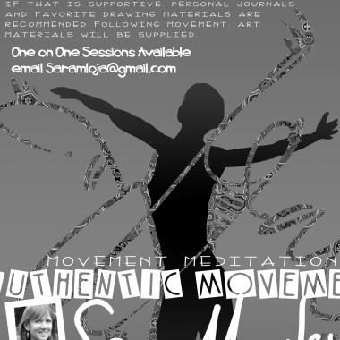 Poster Design for Sara's Authentic Movement