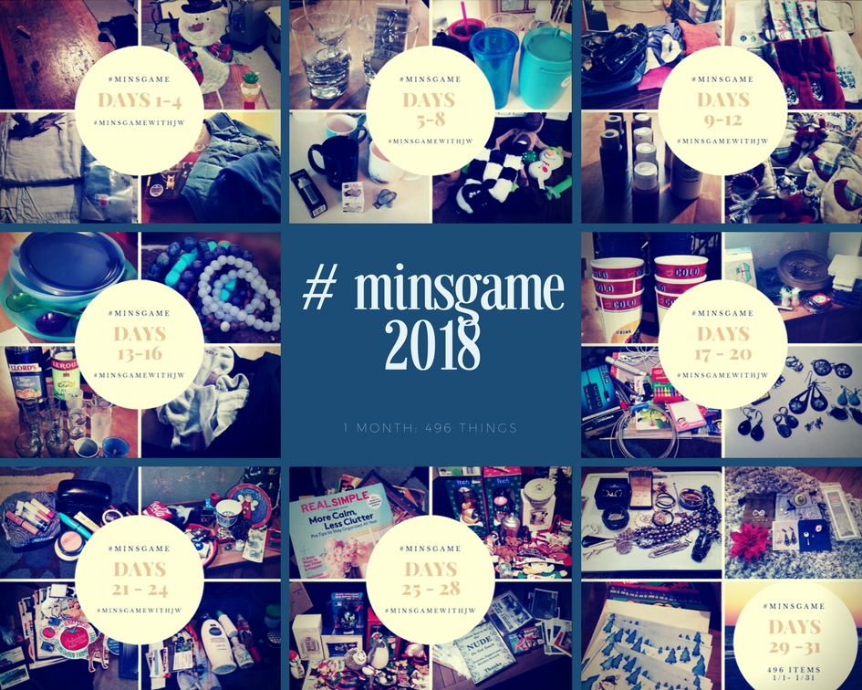 Once again, we successfully rid our home of 496 items. Every year I learn something new. Here are 3 more things winning #minsgame taught me.