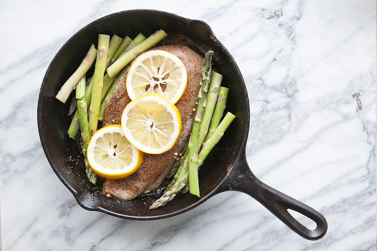 One-Pot Chicken & Asparagus Dinner