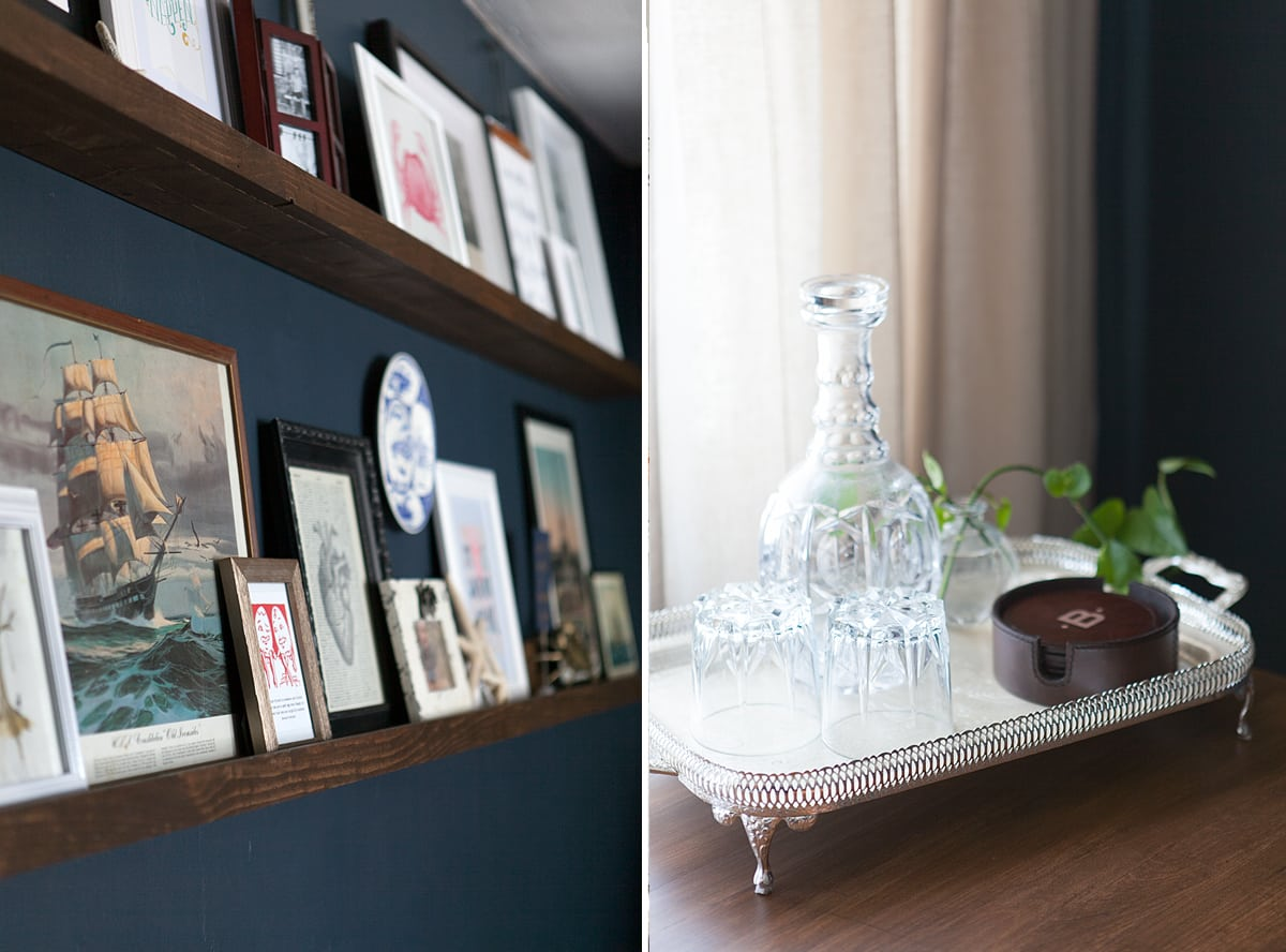 before and after - indigo bedroom ideas - jessica brigham blog - magazine ready for life