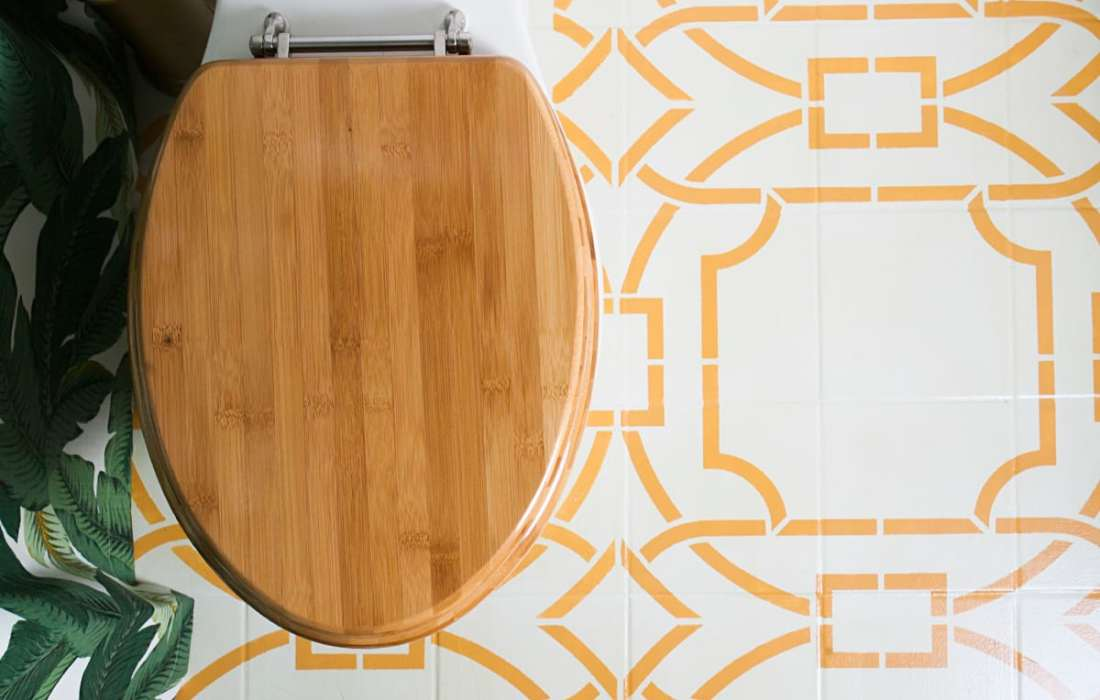 Yes You Can! How to Paint a Bathroom Tile Floor