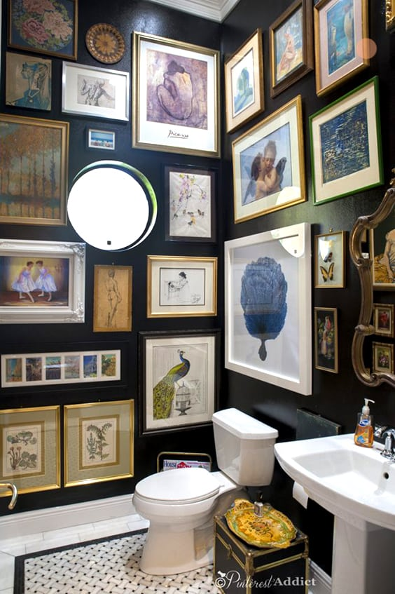 One Room Challenge Modern Boho Bathroom Week Five Jessica Brigham