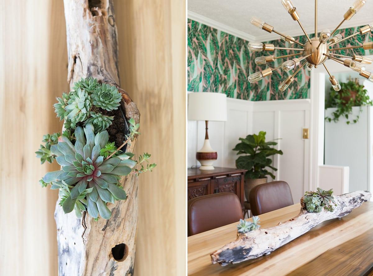 Before & After: Modern Vintage Dining Room Reveal » Jessica Brigham