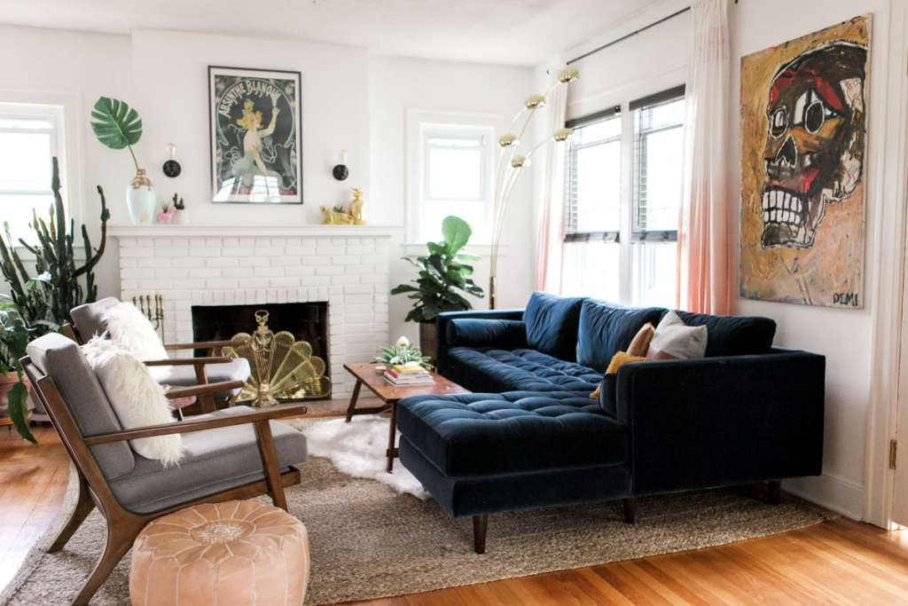 Eclectic Home Tour | Summer 2017 | Jessica Brigham Blog | Magazine Ready for Life For Less