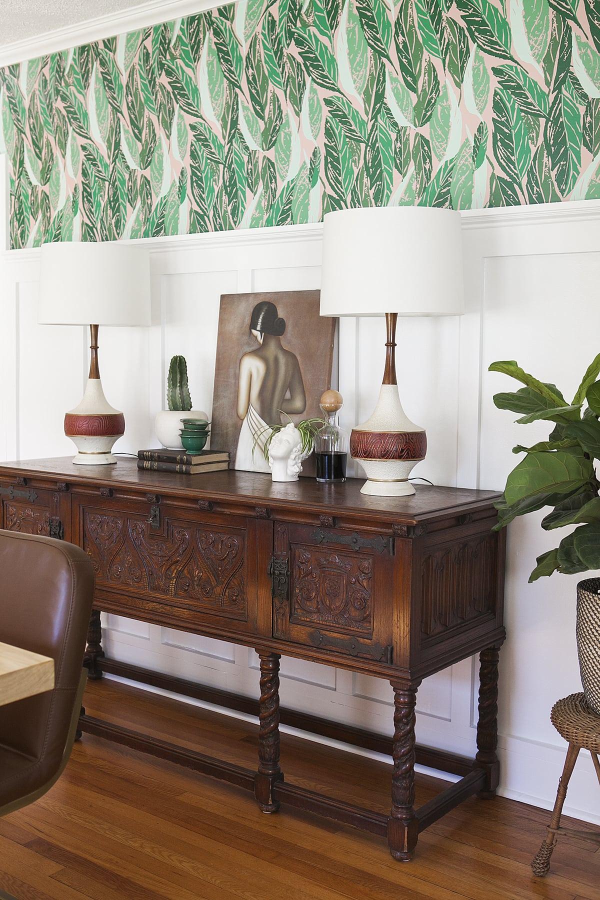 Modern Vintage Dining Room Reveal | Dining Room Design | Dining Room Decor  | Mid Century