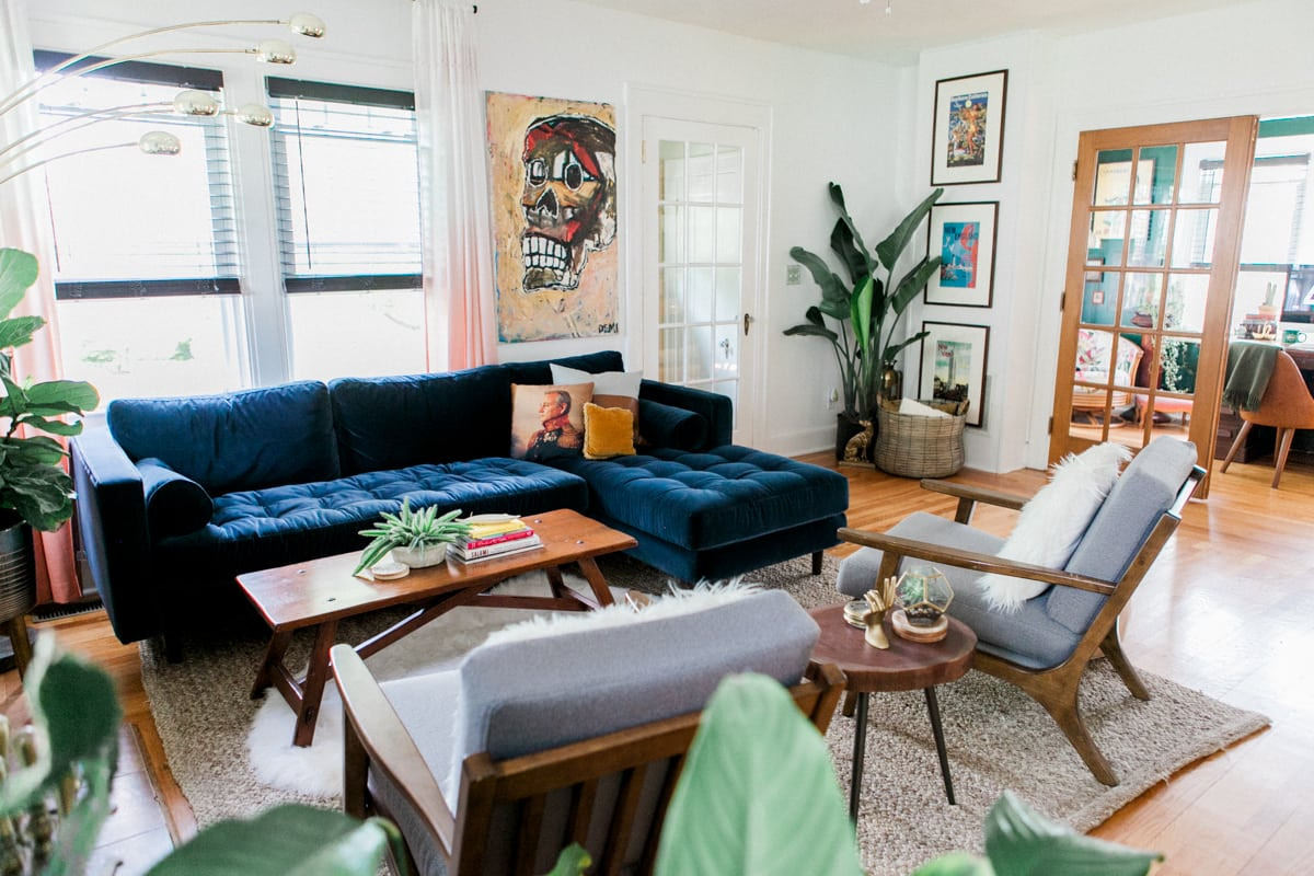 Eclectic Home Tour・summer 2017 » Jessica Brigham