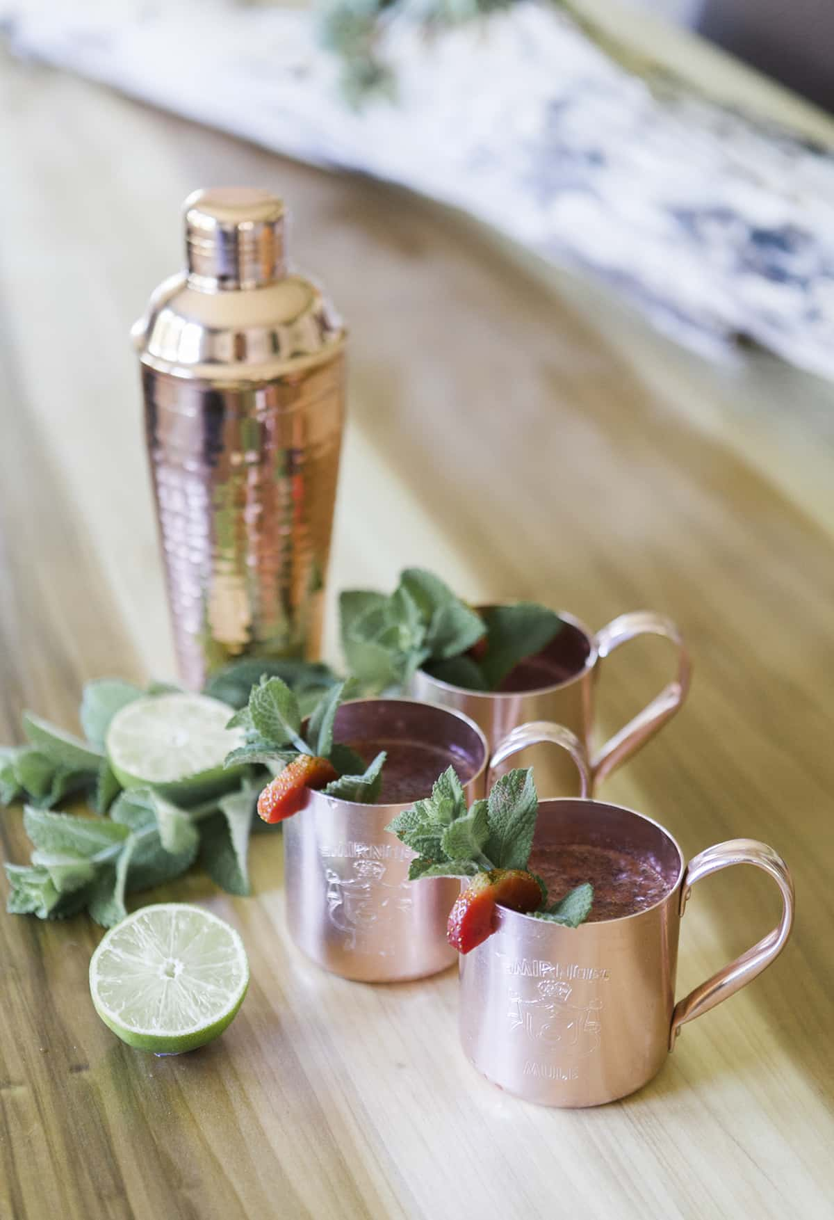 Drink Your Garden: Moscow Mule