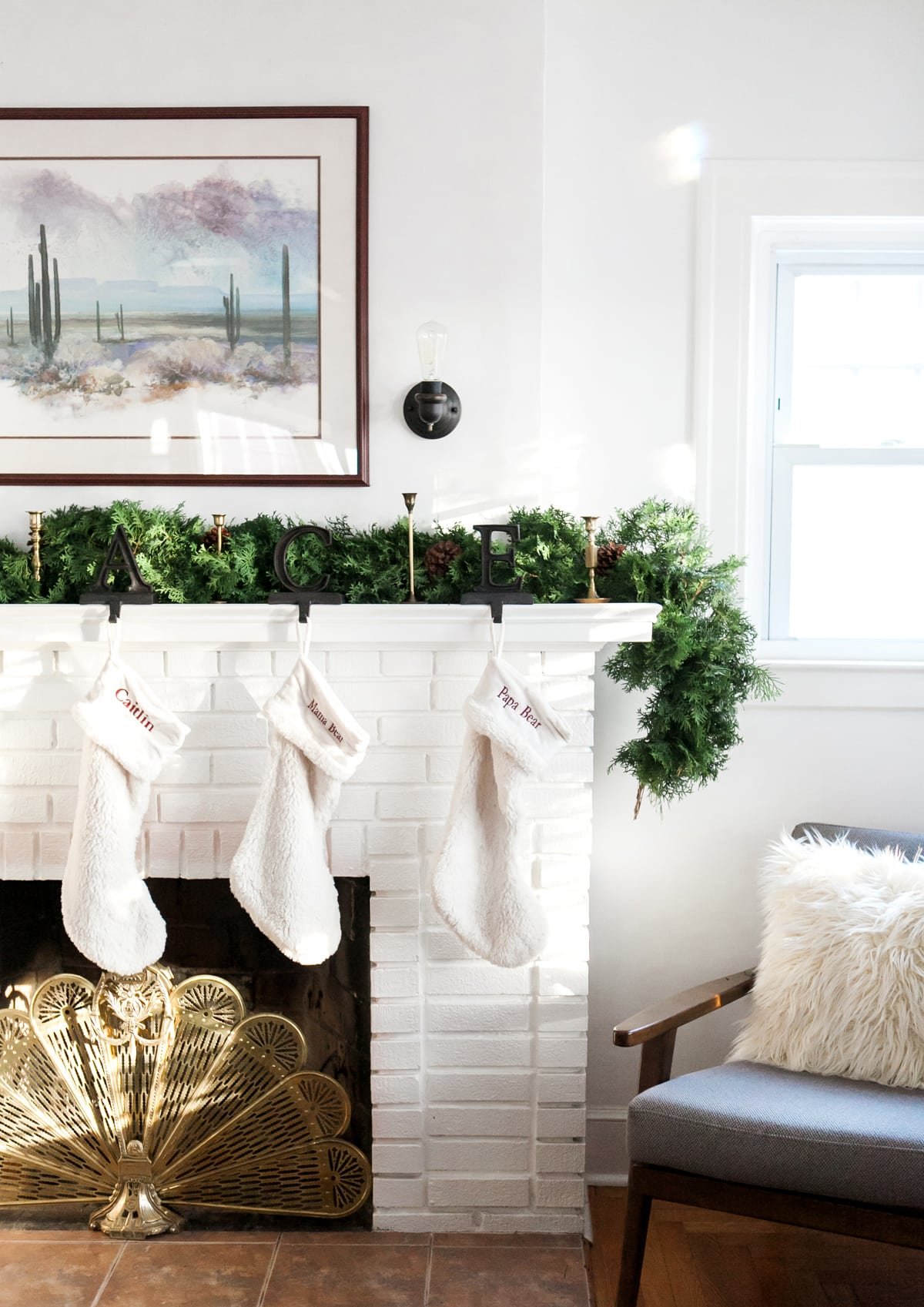 standout freeze dried boxwood garland you happened upon in this months west elm catalog youre dreaming in led twinkle lights on the verge of adding