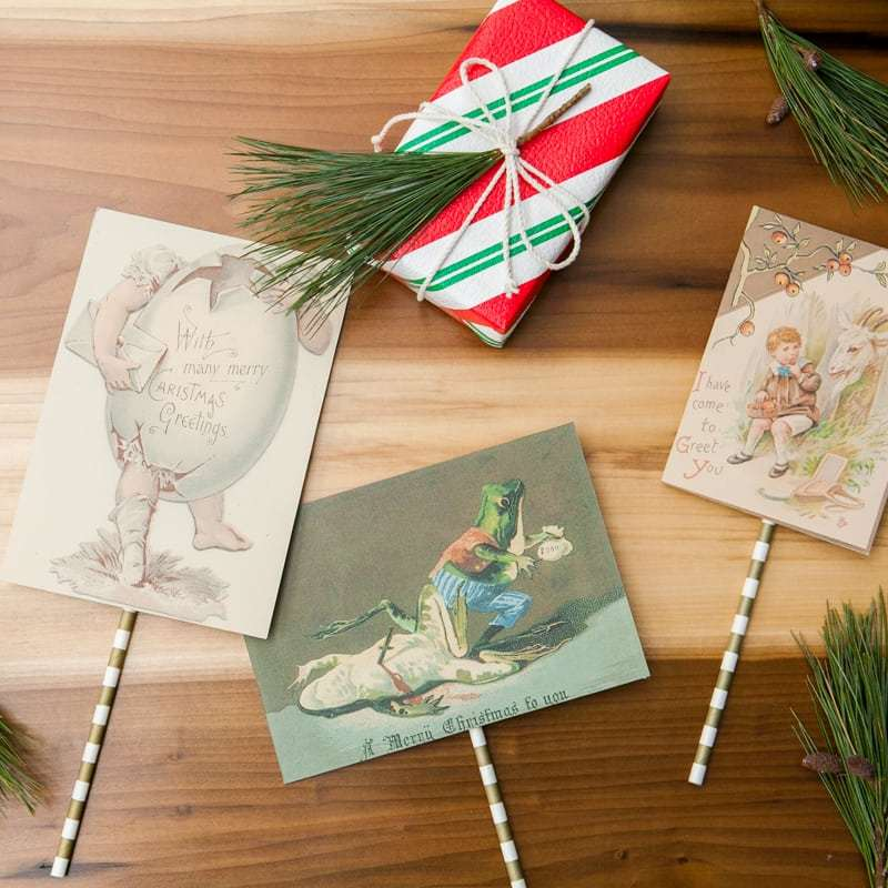 Handmade Christmas Cards DIY | Jessica Brigham Blog | Magazine Ready for Life