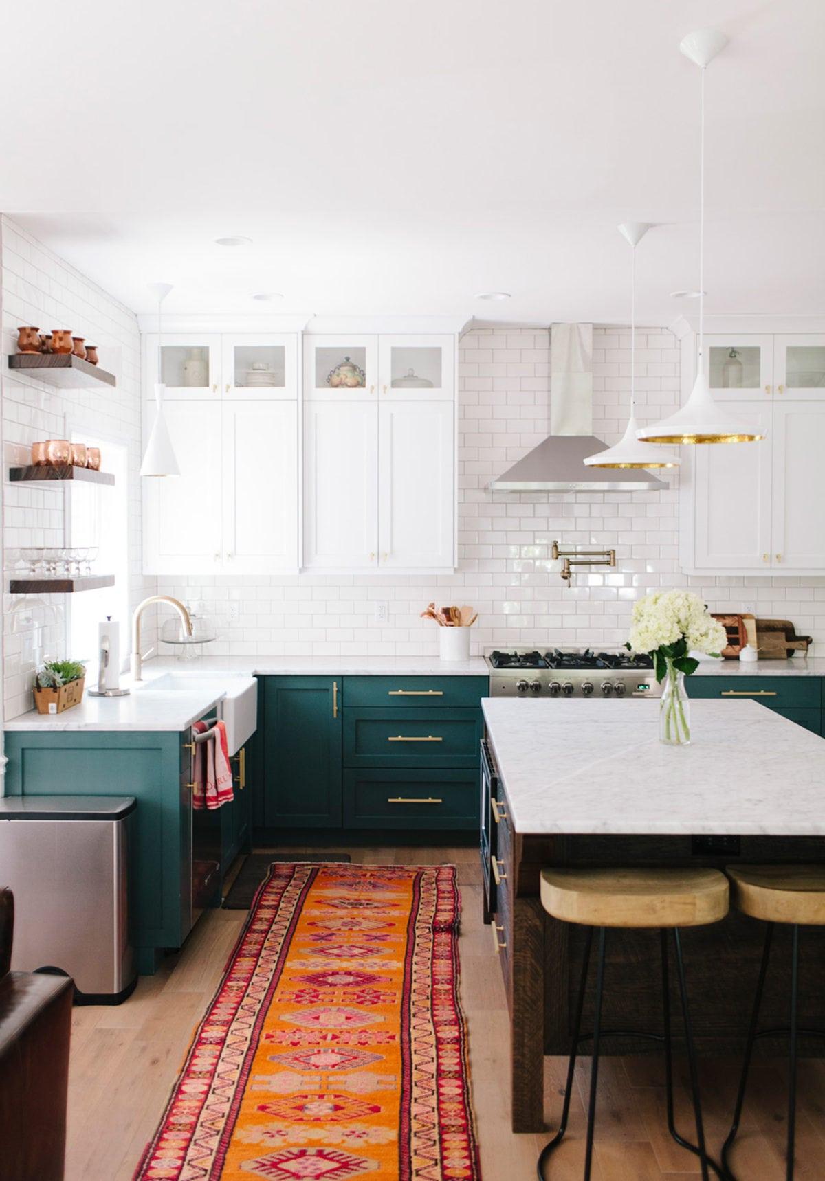 The Best Dark Green Kitchens Like
