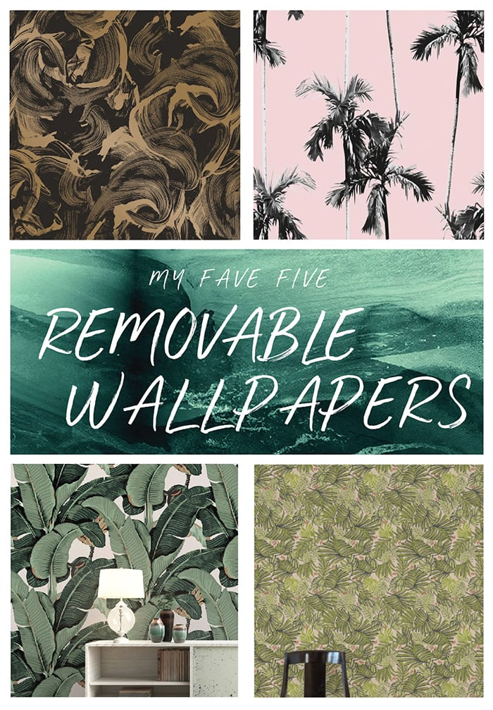 Removable Wallpapers I'm Really Into Right Now | Jessica Brigham | Magazine Ready for Life