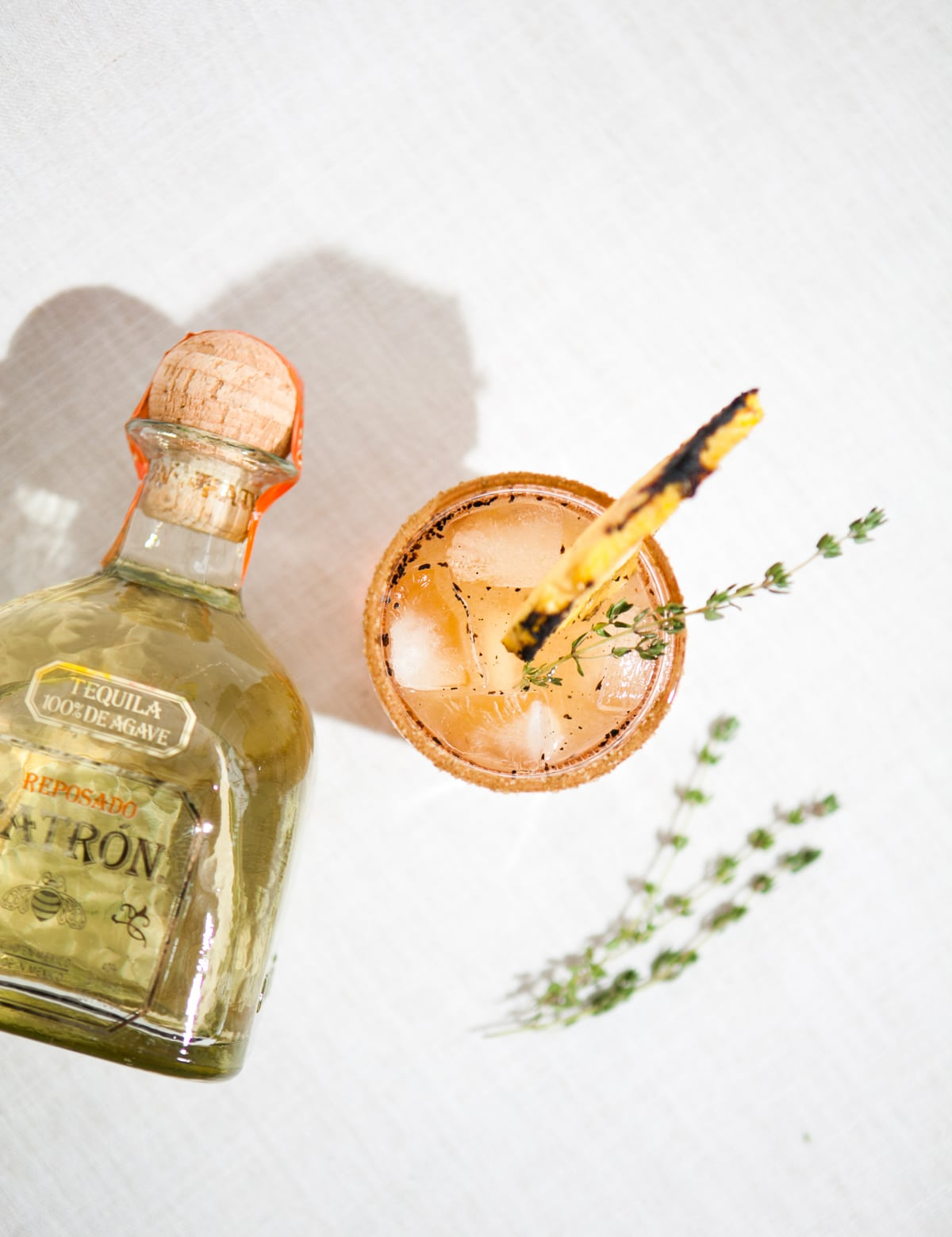 The Saucy Señorita | Grilled Pineapple Margarita Recipe | Patrón Reposado | Cinco de Mayo | Tequila Cocktails | Jessica Brigham Magazine Ready for Life