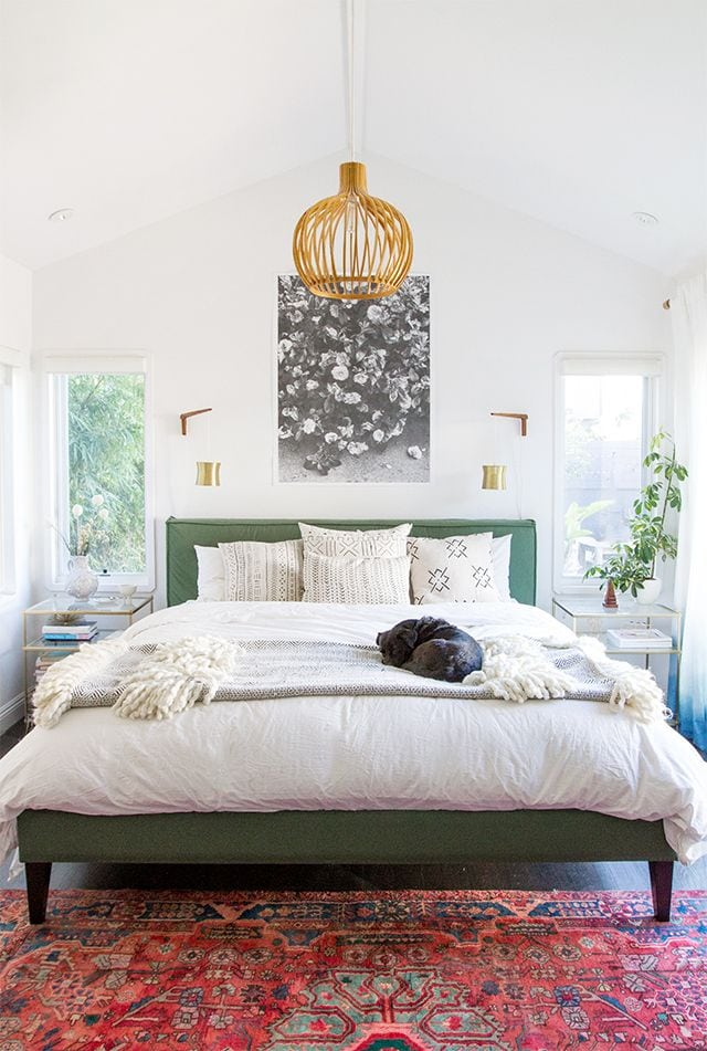 Colorful Desert Jungle Chic Bedroom Inspiration | One Room Challenge | Week Two | Jessica Brigham | Magazine Ready for Life