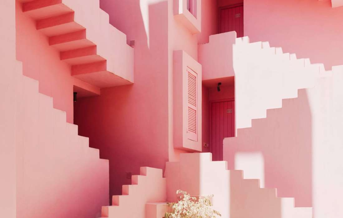 Home Inspiration Color of the Month: PINK!!