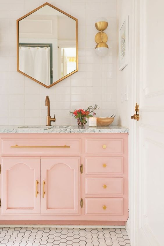 Home Color Inspiration | Color of the Month | Pink Color Inspiration | Bold Color Combinations | Jessica Brigham | Magazine Ready for Life