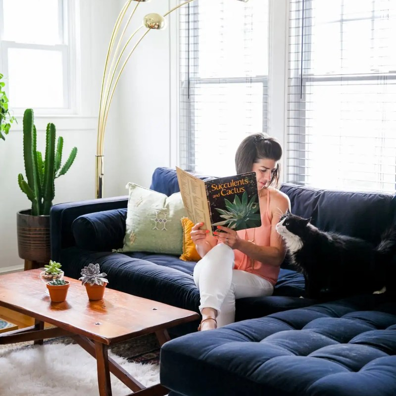 Article Sven Sofa GIVEAWAY   Mid Century Modern Furniture   Win $2000 credit toward Article   Jessica Brigham   Magazine Ready for Life