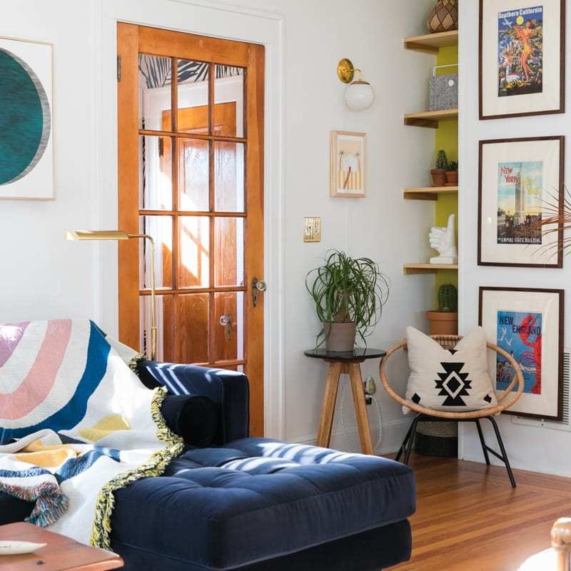 Boho Mod Glam Entryway   One Room Challenge   Week Two   Jessica Brigham   Magazine Ready for Life