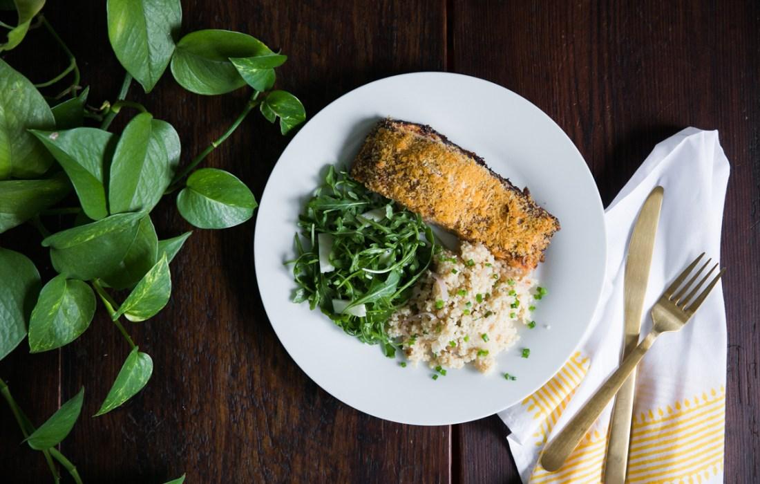 Crispy Panko Salmon Recipe
