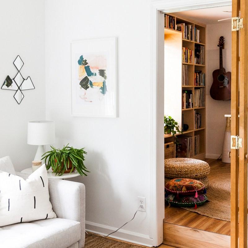 An Eclectic Mid Century-Inspired Home Recording Studio | Room Ideas | Modern Design | Jessica Brigham | Magazine Ready for Life | www.jessicabrigham.com