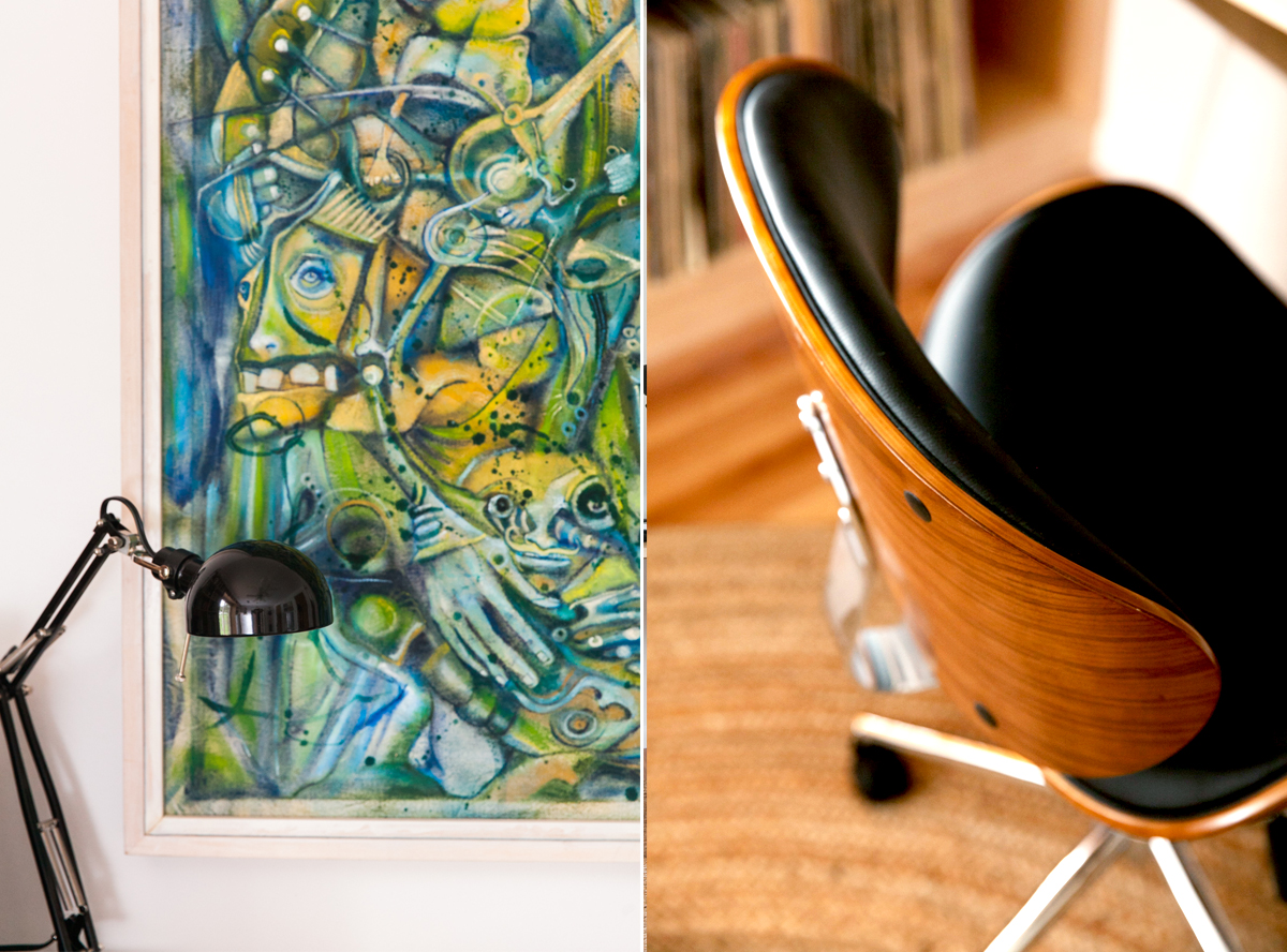 An Eclectic Mid Century-Inspired Home Recording Studio | Room Ideas | Modern Design | Jessica Brigham | Magazine Ready for Life | www.jessicabrigham.comAn Eclectic Mid Century-Inspired Home Recording Studio | Room Ideas | Modern Design | Jessica Brigham | Magazine Ready for Life | www.jessicabrigham.com