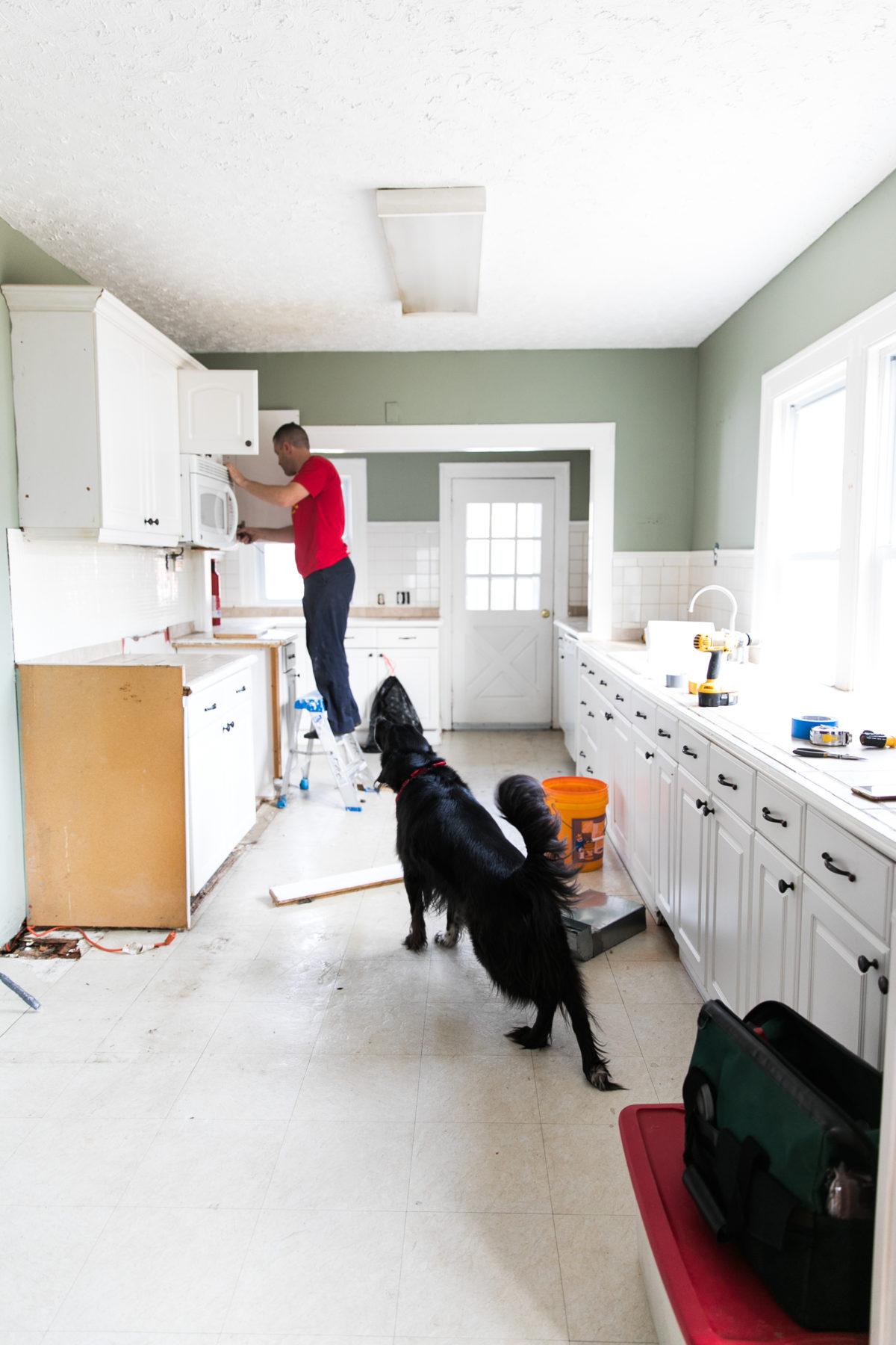 One Room Challenge | Green Kitchen Glamazon | Kitchen Mood Board | Open Kitchen  Design |