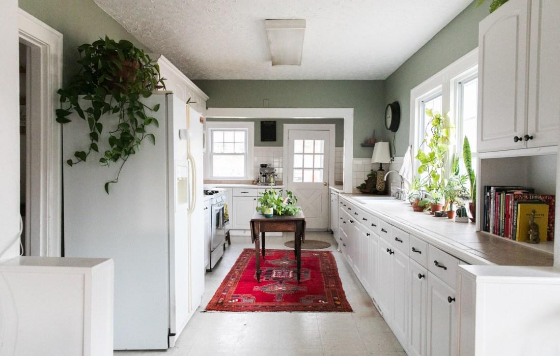 One Room Challenge – Green Kitchen Glamazon – Week One