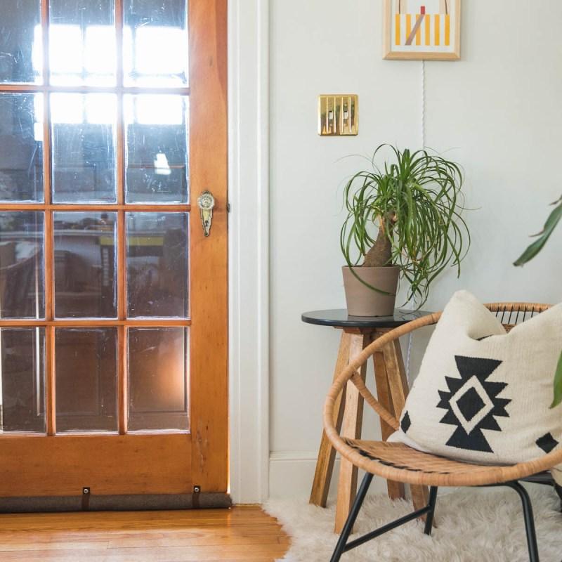 DIY Draft Stopper Will Save You Money, Guaranteed | Clever Home Hack | Jessica Brigham | Magazine Ready for Life | jessicabrigham.com