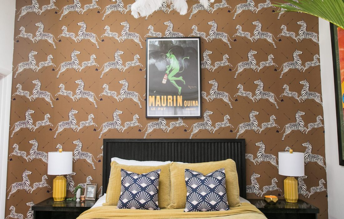 Hollywood Regency Glam Guest Room – The Reveal