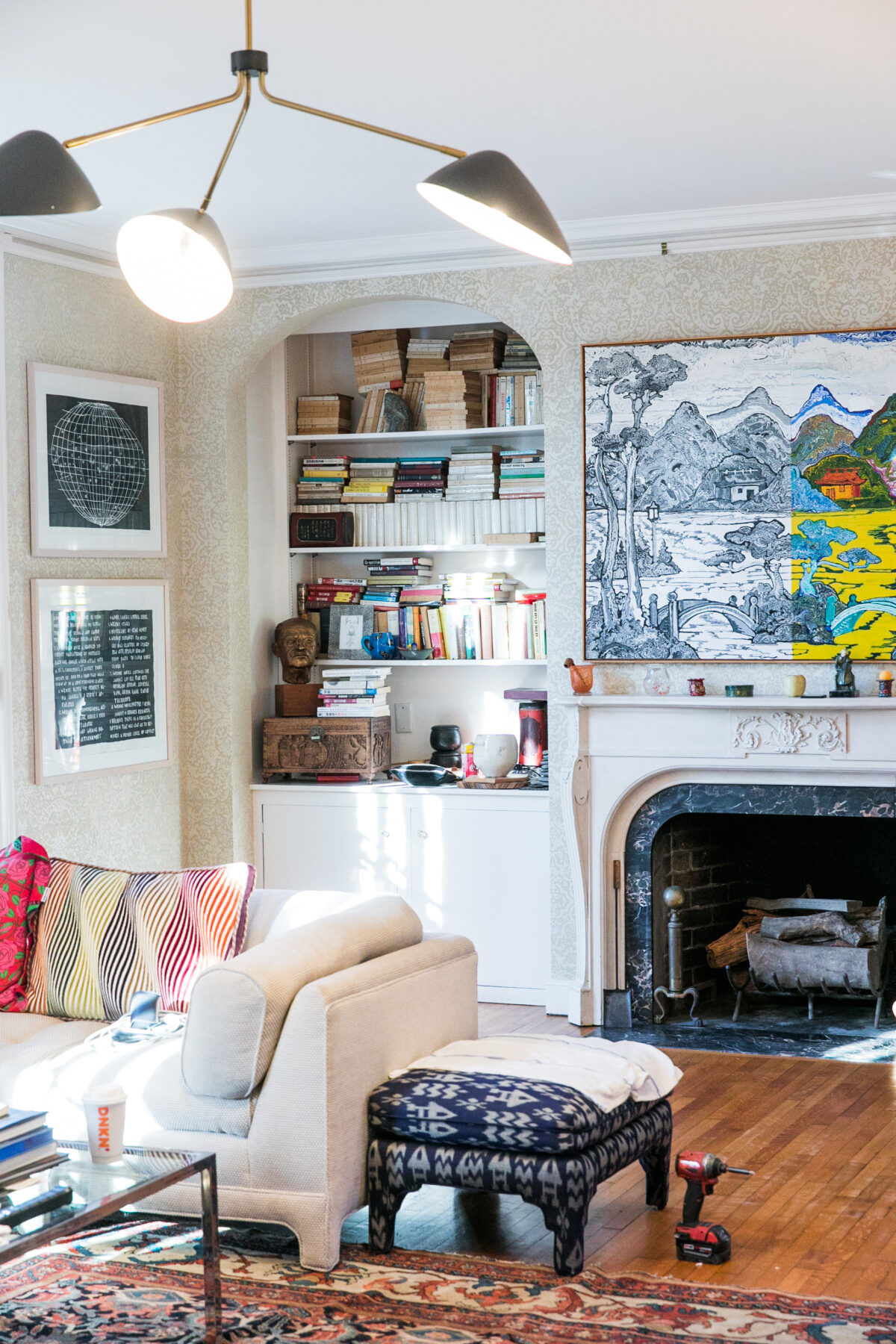 How I Revived a Messy Living Room in this Classic 1904 Spanish Colonial | In-Person Design | Jessica Brigham Magazine Ready for Life | JessicaBrigham.com