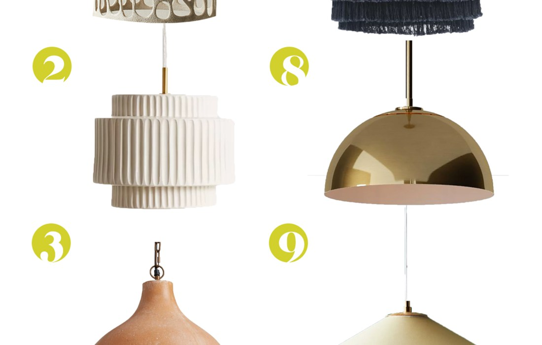 ROUND-UP! Twelve Pretty AF Pendants You Could Easily Turn Into Plug-Ins