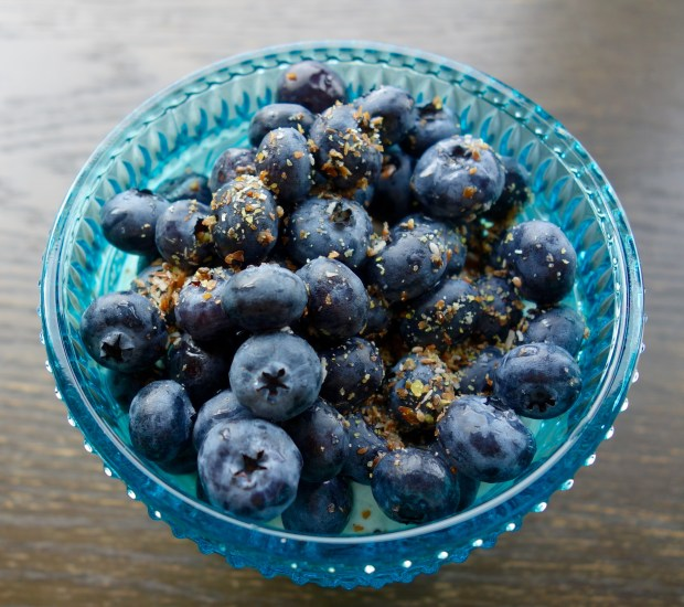 blueberry flax chia coconut