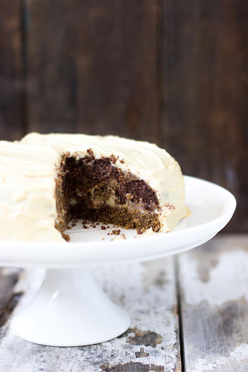 Jessica Cox Marble Birthday Cake W Creamy Frosting Gf