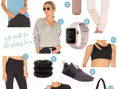 Holiday Gift Guide – For The Fitness Lover