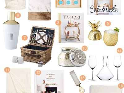 Holiday Gift Guide – For The Hostess