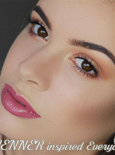 Everyday Makeup tutorial   Inspired by Kylie Jenner