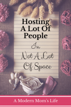 Hosting A Lot Of People In Not A Lot Of Space