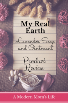 My Real Earth Lavender Soap and Ointment Review