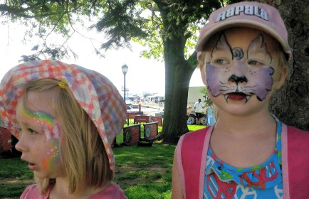 Face Paint at Buskers Rendezvous