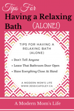 Tips For Having A Relaxing Bath Alone