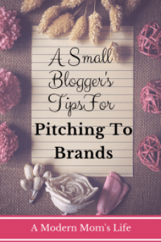 A Small Blogger's Tips For Pitching To Brands